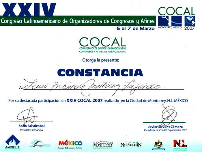 COCAL 2007