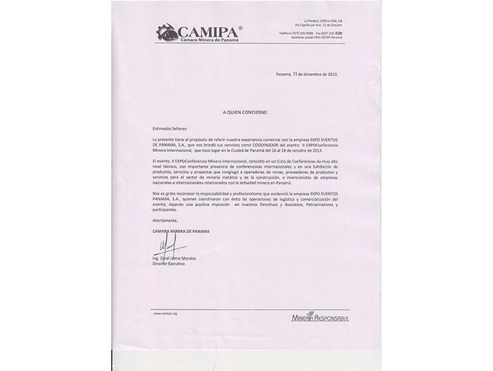 CAMIPA 2013